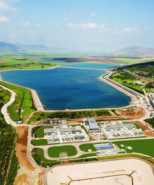 Filtration Plant, Israel National Water Carrier